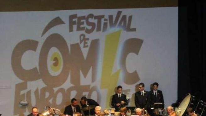 Inauguración del Festival de Cómic Europeo de Úbeda y Baeza.