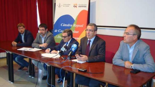 El alcalde Àngel Ros preside presentación de asociación de municipios de montaña