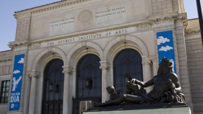Entrada principal del museo de Detroit