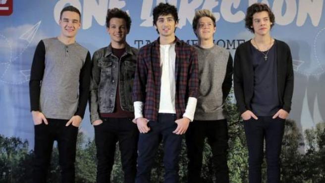 El grupo 'One Direction', en Tokio.