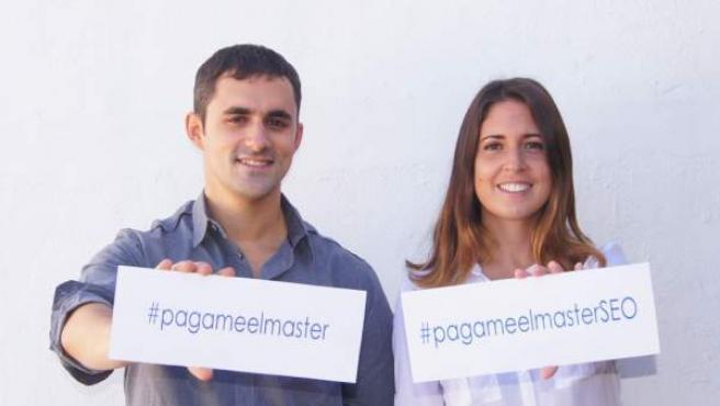 Natalia Sala y Manuel Guerrero buscan una empresa que apueste por su talento.