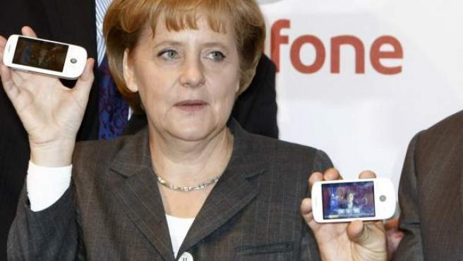 Una imagen de archivo de la canciller alemana Angela Merkel.