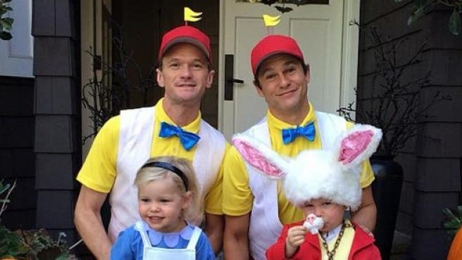 Las fotos de Halloween de Neil Patrick Harris (y familia)