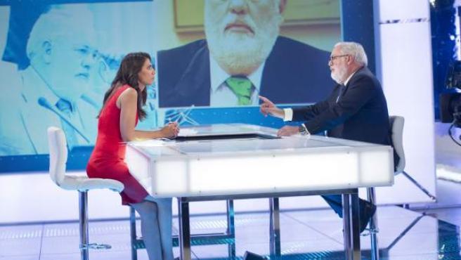Ana Pastor entrevista a Miguel Arias Cañete en El Objetivo.
