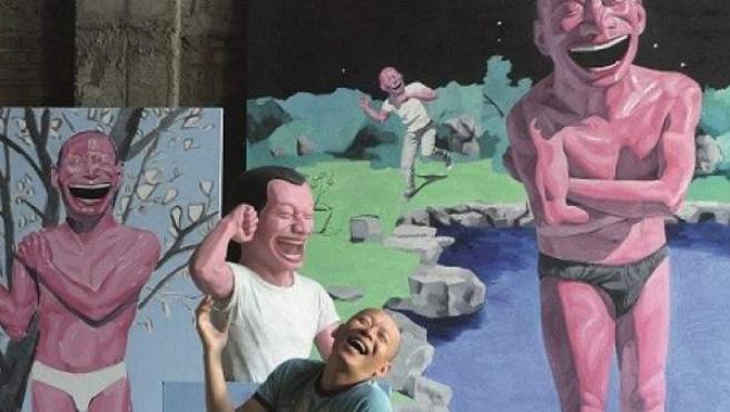 """""""Utilizo la risa como una intermediaria para no expresar la tragedia y el dolor directamente"""", afirma el artista Yue Minjun."""