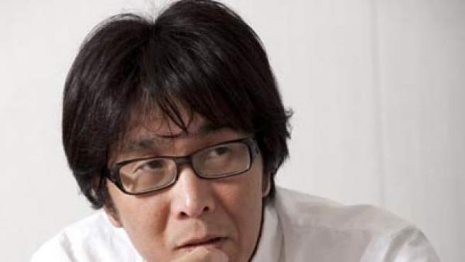 El dibujante de la serie 'Campeones' (Oliver y Benji) el japonés Yoichi Takahashi.