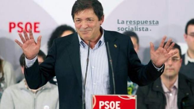 Javier Fernández, líder del PSOE asturiano y presidente del Principado de Asturias.