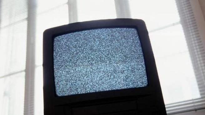 Imagen de archivo de una pantalla de televisión.
