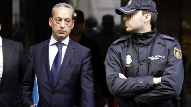 El gerente del PP de Castilla-La Mancha, José Ángel Cañas.