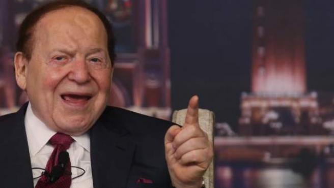 Sheldon Adelson, en una foto de archivo.