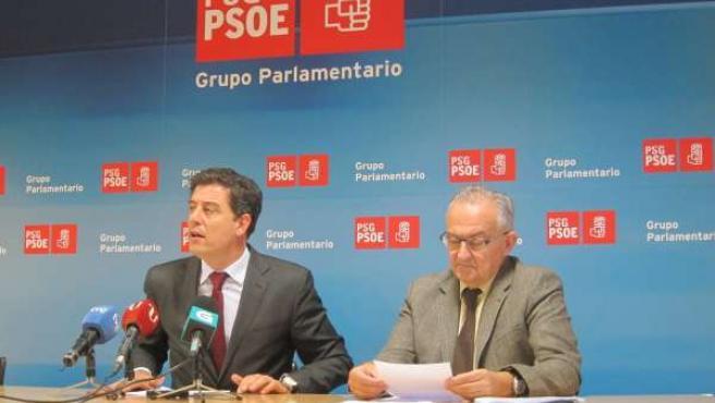José Ramón Gómez Besteiro y José Luis Méndez Romeu