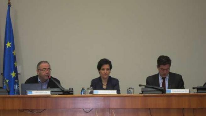 José Ramón Gómez Besteiro en el Parlamento.