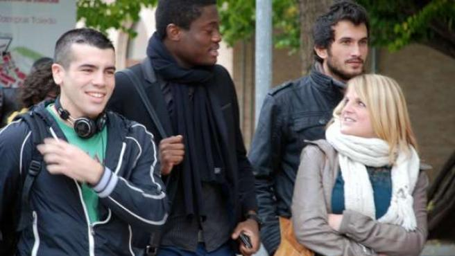 UCLM, estudiantes, clases, universitarios