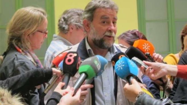 El secretario general de UGT-A, Francisco Fernández Sevilla