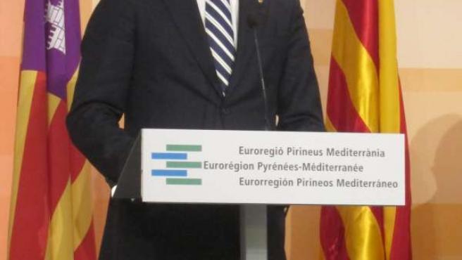El presidente de Baleares, José Ramon Bauzá