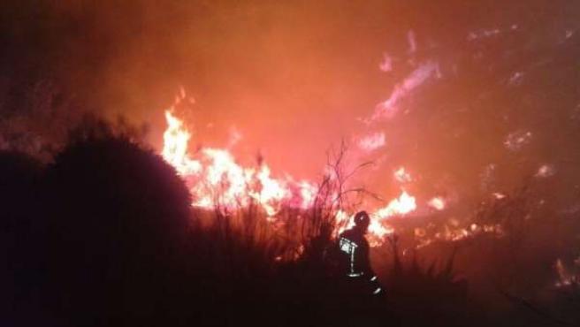 Incendio de Almogía.