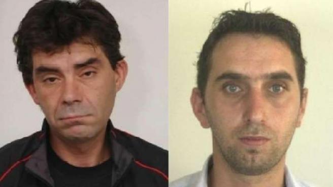 Delincuentes buscados por secuestro médico portugués (Izqda Canceliñas)