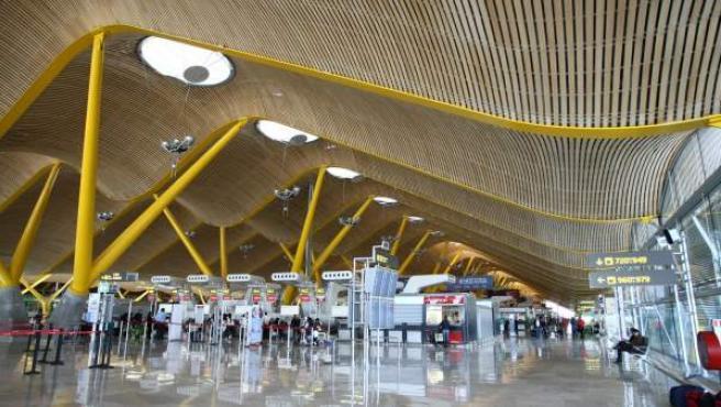 Una imagen del aeropuerto de Madrid-Barajas.
