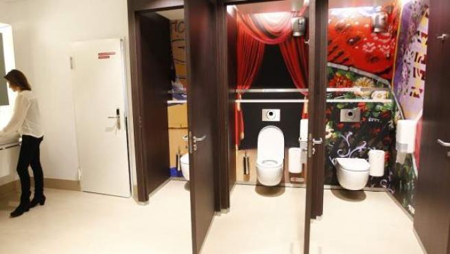 Los baños de pago de lujo de la estación de Atocha