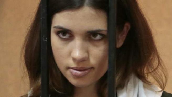 Nadezhda Tolokónnikova, componente del grupo de punk ruso Pussy Riot, en una imagen de archivo.