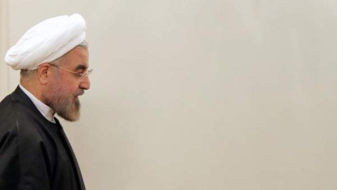 El presidente de Irán, Hassan Rowhan, en una imagen reciente.
