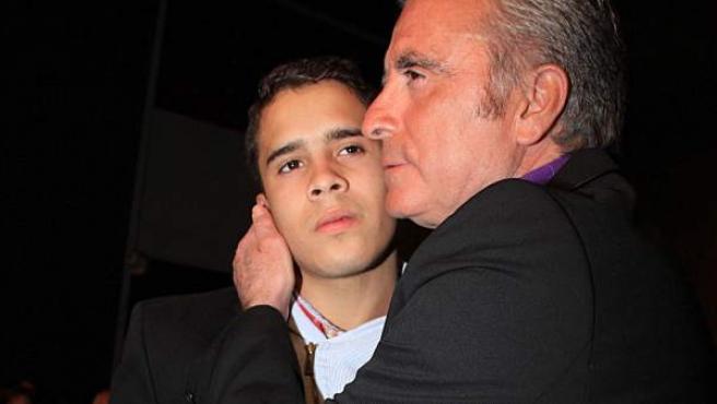 José Ortega Cano y su hijo, José Fernando.