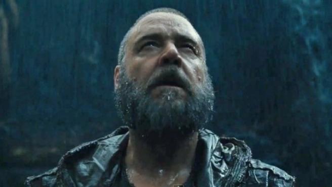 Russel Crowe en la película 'Noé' de Darren Aronofsky.
