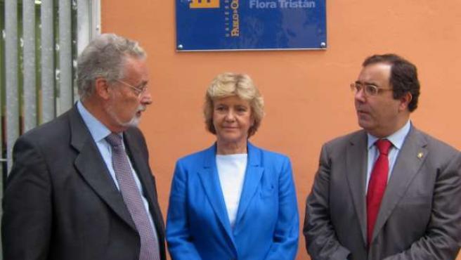 Jesús Maeztu, Soledad Becerril y Vicente Guzmán
