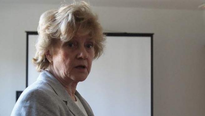 La política y profesora Soledad Becerril.