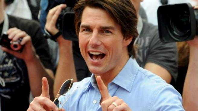 El actor Tom Cruise, en una imagen de archivo.