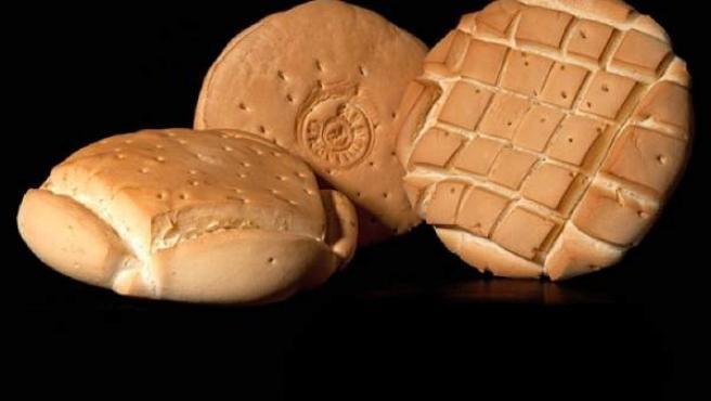 Algunos de los panes elaborados bajo la marca de Pan de Valladolid.
