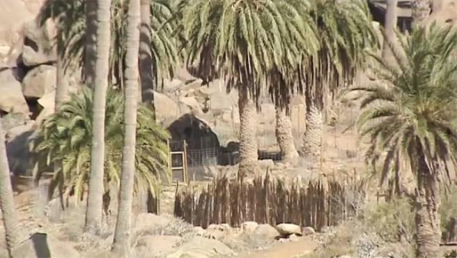 Set de rodaje en Fuenteventura de la nueva película de Ridley Scott, Exodus.