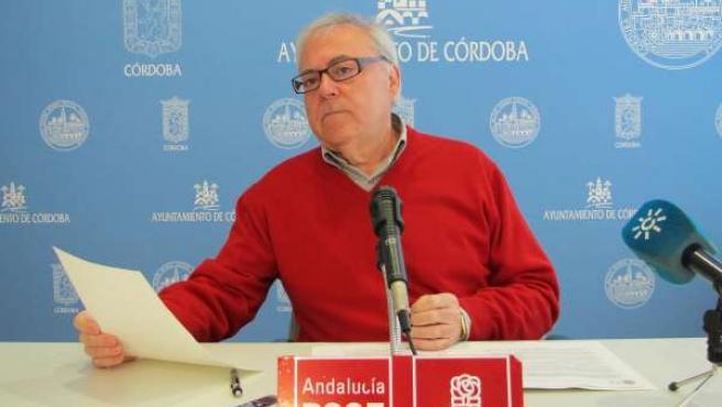 El concejal del PSOE Emilio Aumente
