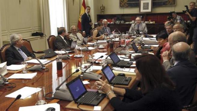 Vista general del pleno del Consejo General del Poder Judicial (CGPJ).