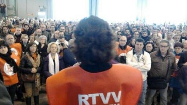 Asamblea de trabajadores de RTVV