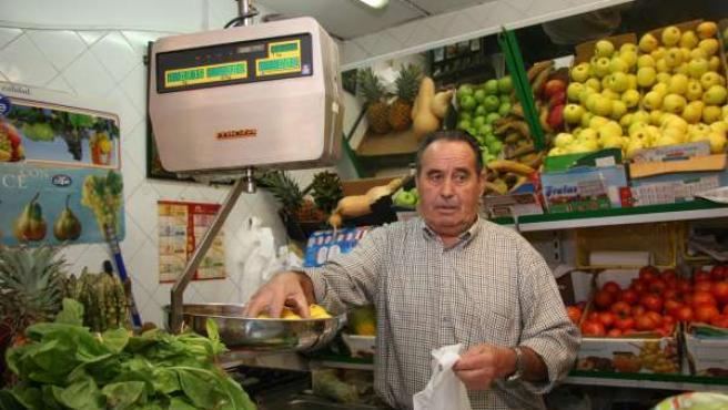 Una frutería en Castilla La Mancha