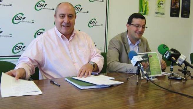 Representantes de CSI-F Extremadura
