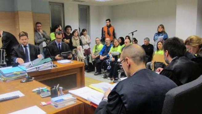 Juicio por el traslado de la plantilla de Konecta en Torrelavega a Valladolid