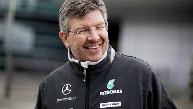 Ross Brawn, 'team principal' del equipo Mercedes.