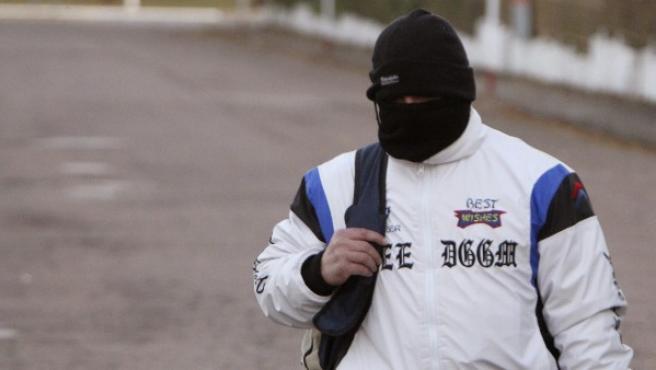 El autor del triple crimen de Alcàsser, tras salir de prisión.