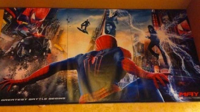 Póster de 'The Amazing Spider-Man 2: El poder de Electro' con el Duende Verde