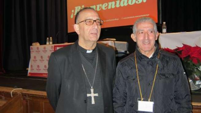 Juan José Omella y Luis Lleida