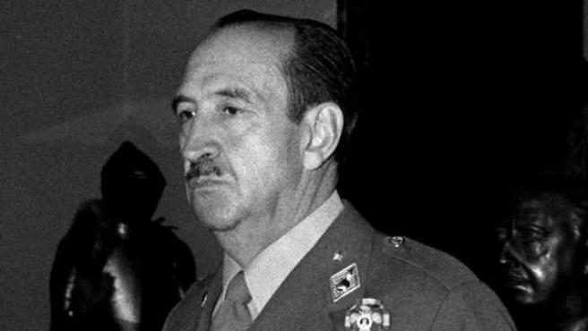 Foto del general Alfonso Armada, que data de 1981.