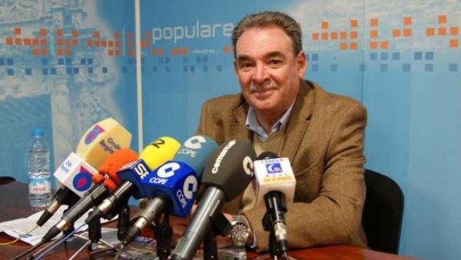 El senador lorquino del PP, José Joaquín Peñarrubia