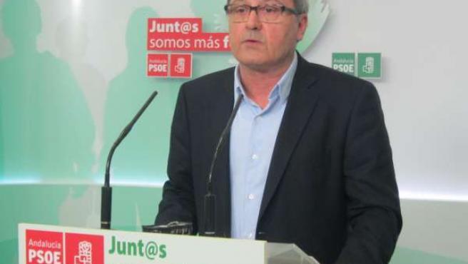 El secretario de Organización del PSOE-A, Juan Cornejo