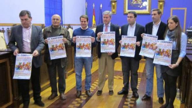 Presentación de la III Campaña municipal de Recogida de Juguetes de Jaén