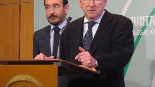 Emilio de Llera, consejero andaluz de Justicia e Interior
