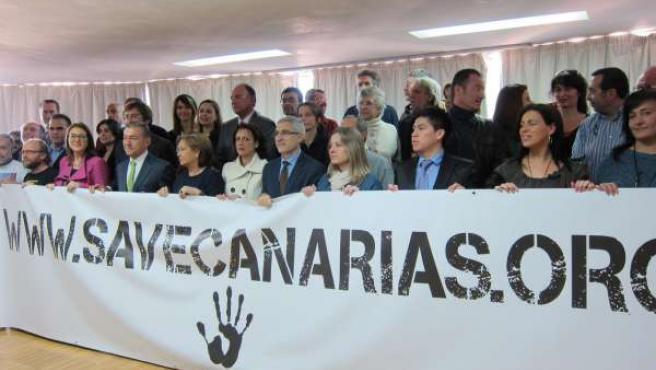 Campaña contra las prospecciones petroleras en Canarias
