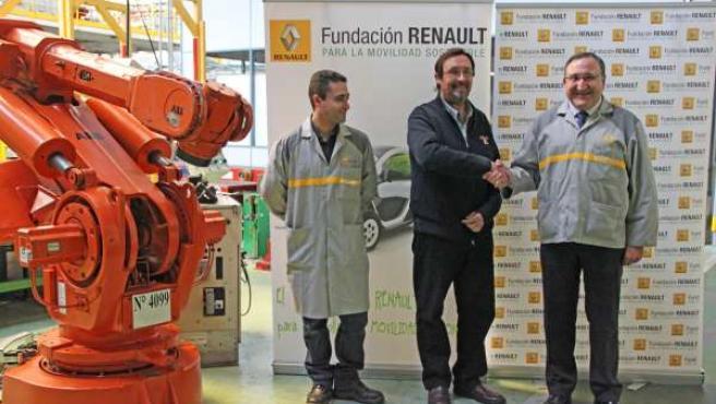 Dondación de material al Centro Especial de Empleo de Grijota