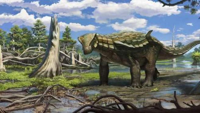El anquilosaurio tenía este aspecto